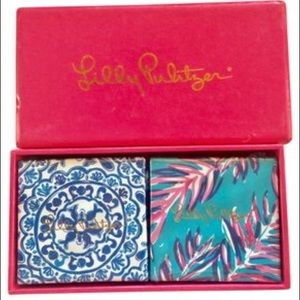 Lilly Pulitzer Hans Soap Set